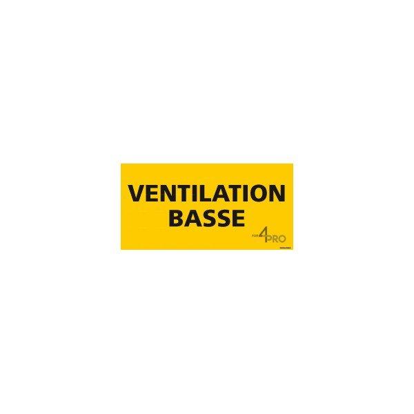 Panneau rectangulaire ventilation basse 4mepro - Table basse panneau signalisation ...