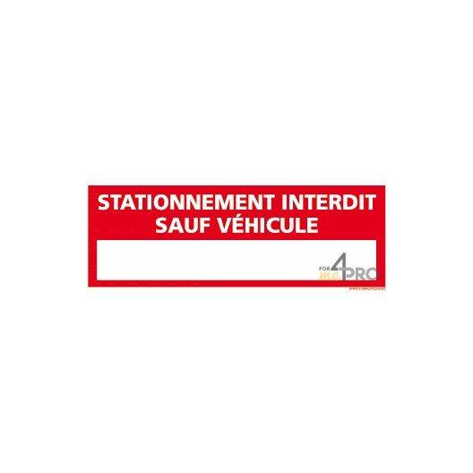 Interdiction de stationner imprimer for Panneau d interdiction de stationner devant un garage