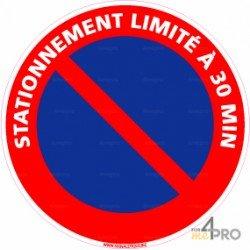 Panneau d 39 interdiction 33 4mepro for Stationnement devant garage sans panneau