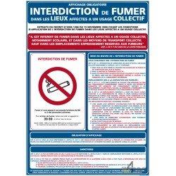 panneau rectangulaire vertical interdiction de fumer 4mepro. Black Bedroom Furniture Sets. Home Design Ideas