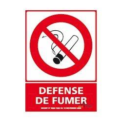 Adhésif spécial sol Défense de fumer