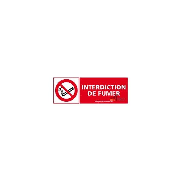 Panneau de signalisation rectangulaire horizontal - Panneau signalisation interdiction ...