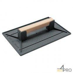 Taloche plate rectangulaire 28 x 18 cm