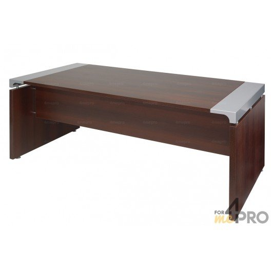 Bureau de direction 200 x 100 cm xo 4mepro for Bureau 70 cm de large