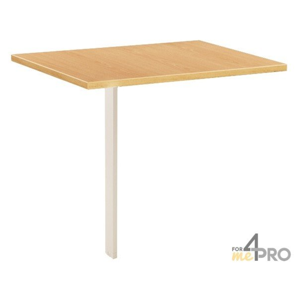 Extension de bureau urban 60 x80 cm 4mepro for Bureau 60 cm de largeur