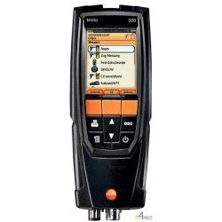 Lot Analyseur de combustion testo 320 avec Bluetooth