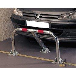 Barrière de parking rabattable standard 3 pieds avec serrure clavette