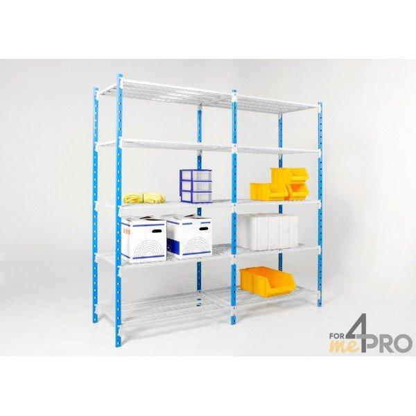 rayonnage d part flip tablettes tubulaires 2m x 1m x 50cm. Black Bedroom Furniture Sets. Home Design Ideas