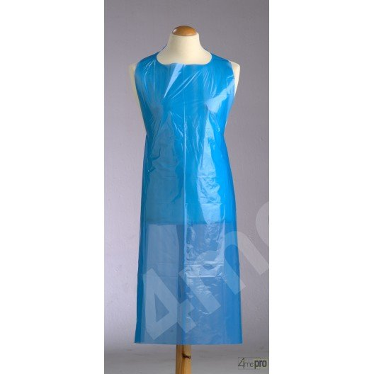 Tablier multi-usage polyéthylène 69 x 122 cm bleu