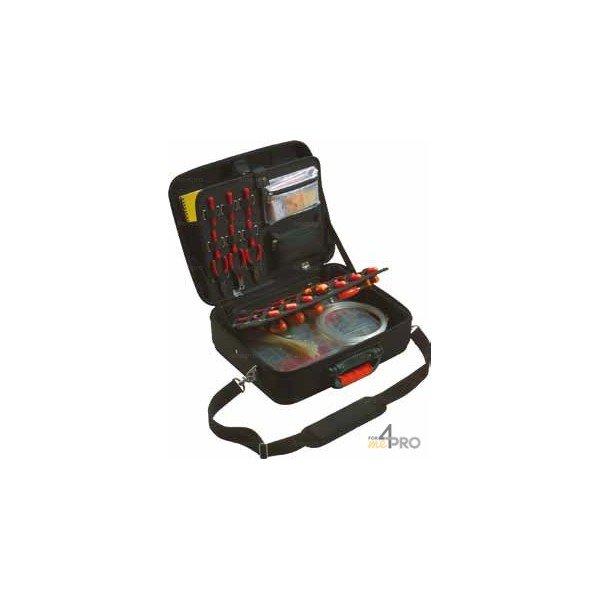 4mepro-valise Porte Outils Professionnelle En Eva 48 X 17 X 40 Cm