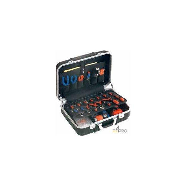 4mepro-valise Porte Outils Rigide Et Antichoc 53 X 16 X 40 Cm