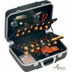 Valise porte outils rigide et antichoc 53 x 20 x 42 cm