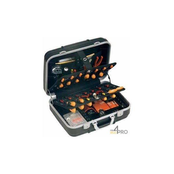 4mepro-valise Porte Outils Rigide Et Antichoc 53 X 20 X 42 Cm