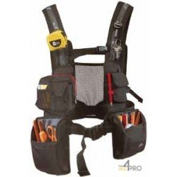 Gilet porte outils multipoches