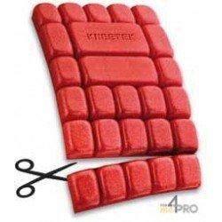 Genouillère Multipad pour pantalon extra légère - Norme EN 14404/EPI type 2