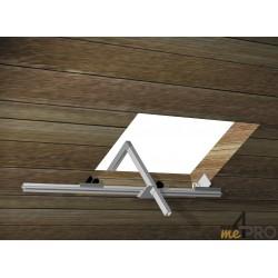 Option pince de serrage pour fenêtre de toit