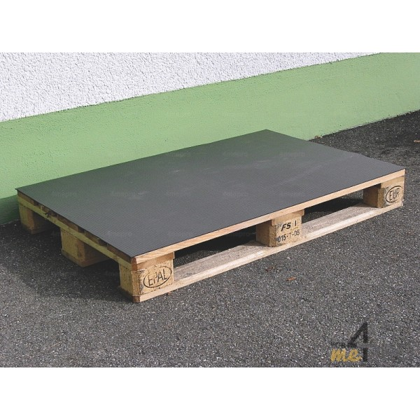 tapis antidrapant black cat panther pour charges lourdes en rouleau 1 m x 4 m - Tapis Antiderapant