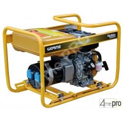 Groupe électrogène diesel monophasé Master 4010 DXL 15 DEMC - 2,60 kW