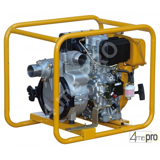 Un groupe motopompe diesel