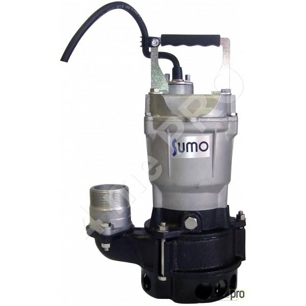 Pompe électrique submersible Sumo BHV 401 S pour eaux très chargées et eaux de chantier