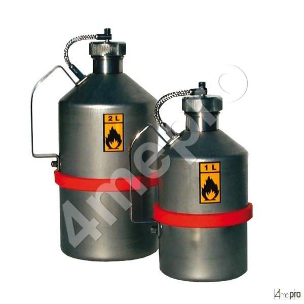 4mepro-bidon De Sécurité Inox Adr 2 L Pour Transport Routier