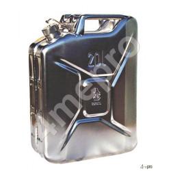 Jerrican inox ADR 20 L pour transport routier