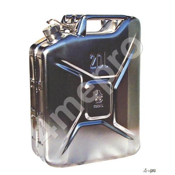 4mepro-jerrican Inox Adr 20 L Pour Transport Routier