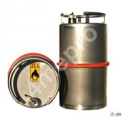 Fût inox ADR 25 L pour transport routier