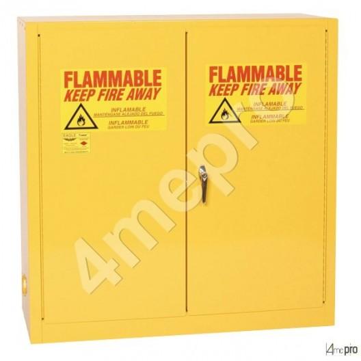 armoire 226l produits inflammables portes automatique. Black Bedroom Furniture Sets. Home Design Ideas