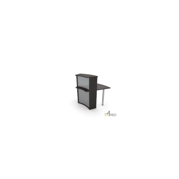 4mepro-module Concave 45° Haut Pour Bureau De Banque Elégance