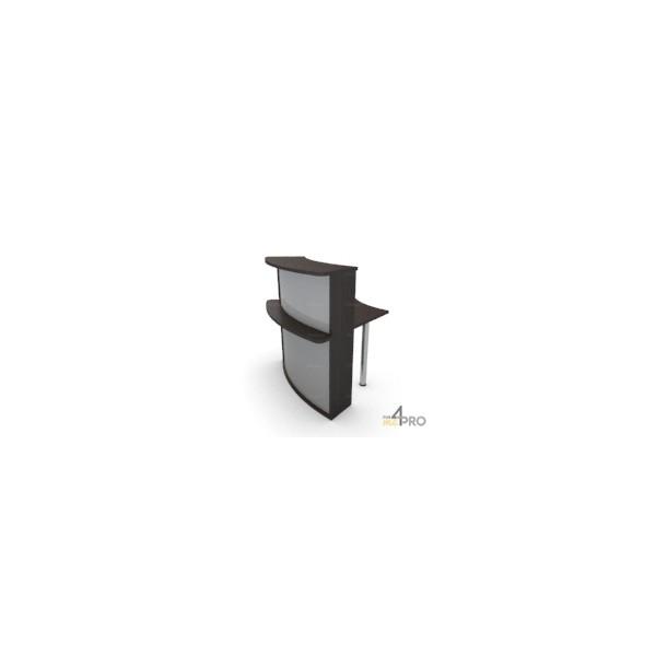 4mepro-module Convexe 45° Pour Bureau De Banque Elégance