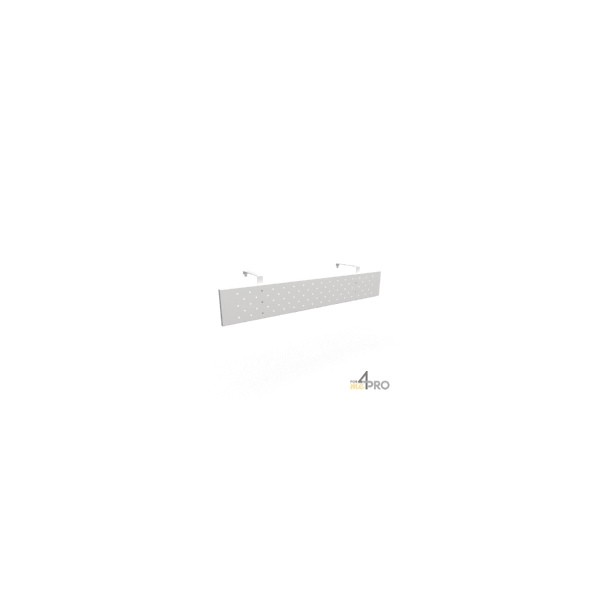 4mepro-voile De Fond Design Métal Pour Bureau Dynamic 180 Cm