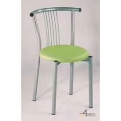 Chaise avec assise rembourée Resto