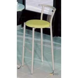 Tabouret haut avec assise rembourée Resto
