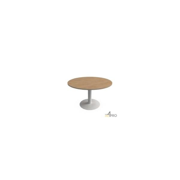 table ronde tonneau runion 120 cm pied tulipe - Table Ronde Pied Tulipe