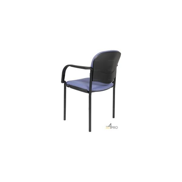 4mepro-chaise Visiteur En Tissu Avec Accoudoirs Cp40