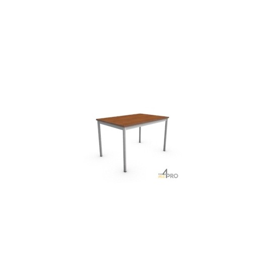 Table de r union confort 120 x 80 cm 4mepro for Bureau 80 cm de large