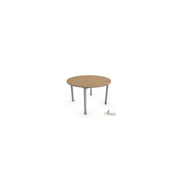 4mepro-table De Réunion Confort Ronde 120 Cm