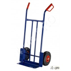 Diable acier usage intensif 200 kg roues pneumatiques