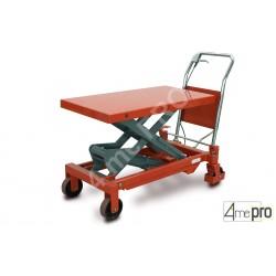 Table élévatrice manuelle acier 750 kg