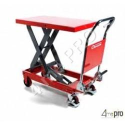Table de levage manuelle acier 500 kg