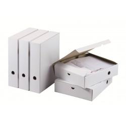 Boite à archives avec clip A4 25,5 x 7,1 x 31 cm