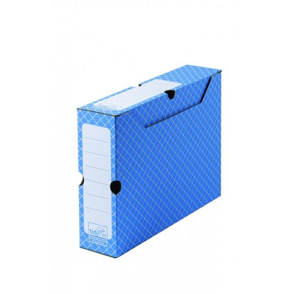 4mepro-boite à Archives Grise A4 32,2 X 7,8 X 24,9 Cm