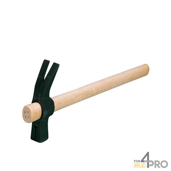 Marteau de coffreur avec manche en bois