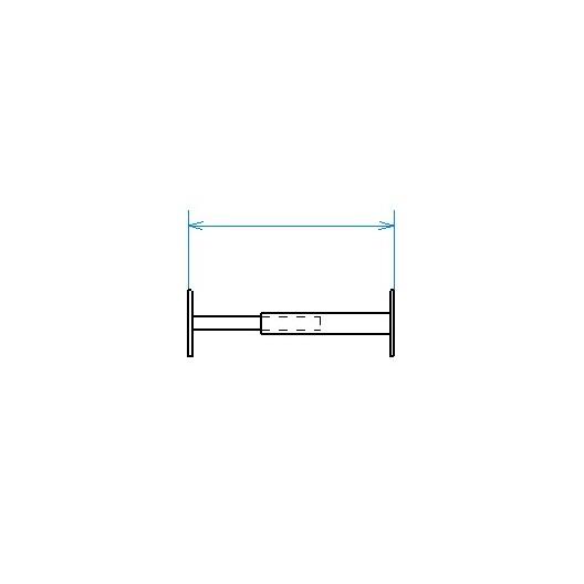 Grille de défense télescopique de 55 à 103 cm de long pour fenêtre de 13 à 26 cm de haut