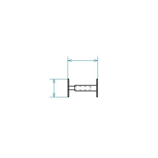 Grille de défense télescopique de 30 à 55 cm de long pour fenêtre de 13 à 26 cm de haut
