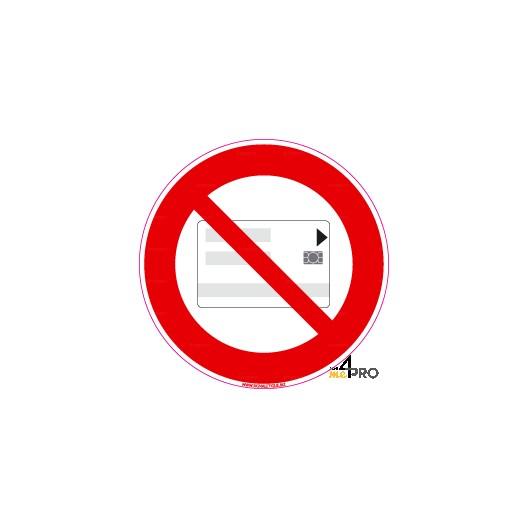 panneau carte magn tique interdite 4mepro. Black Bedroom Furniture Sets. Home Design Ideas