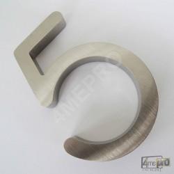 Plaque Numéro de maison 3D 10 cm