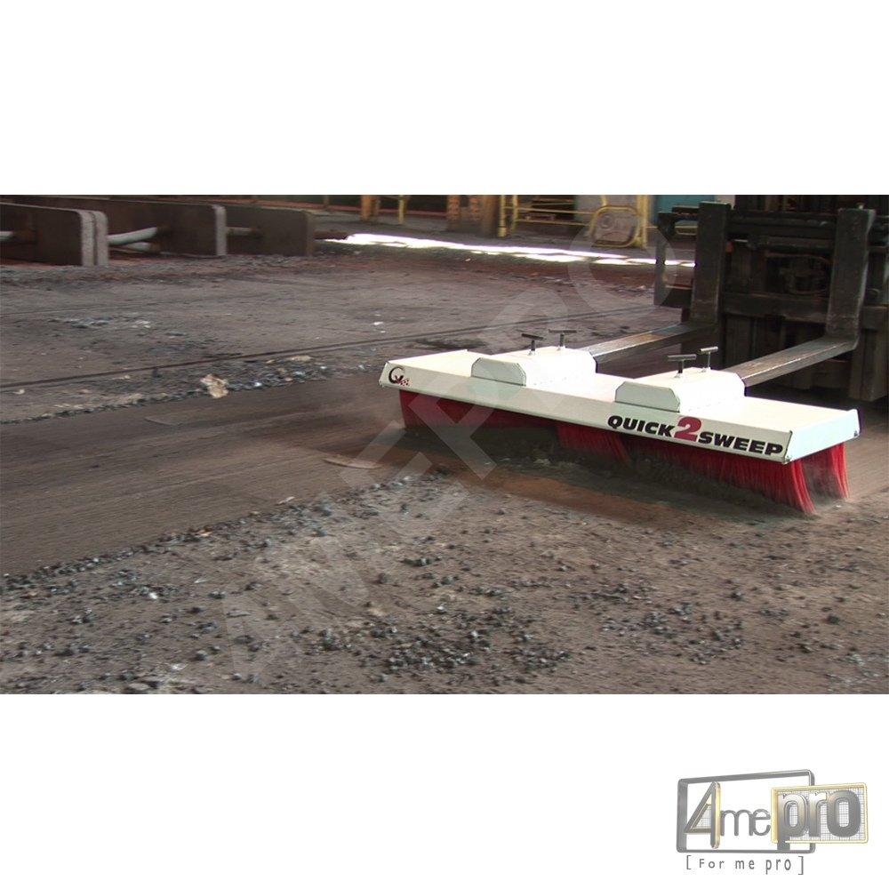 Balai pousseur pour Atelier industriel