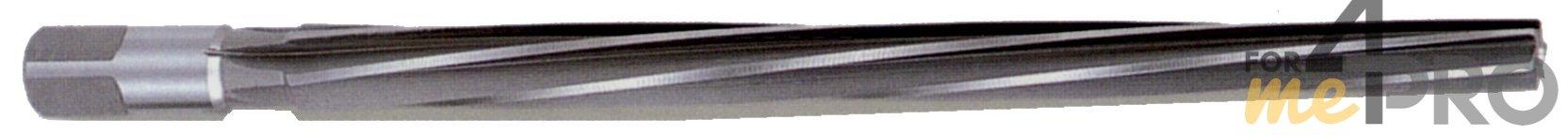 Alésoir machine HSS avec goujures hélicoïdales 8° à gauche